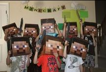 Minecraft party / For my 10 year, he pins what he wants and I hope to materialize it / by Pinteresting Fool