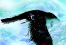 Crows & Ravens / Blackbird love ♥️ / by Susanne Norling