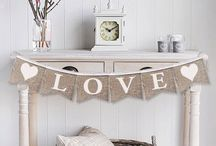 GORGEOUS GARLANDS & BEAUTIFUL BANNERS...