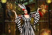 Circus ~ Magic Theatre / Circus, sometimes dark and burlesque. / by Susanne Norling
