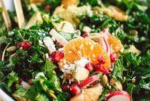 [salad] / by ◃ Kenzie ▹