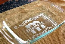 GLASS ETCHING...