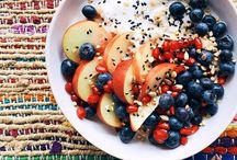 Breakfast & Coffee Inspiration / Healthy brekkie, snack and coffee ideas to fuel our food cravings and fitspiration!