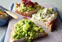 Belegte Brote | Open Sandwiches / Ein Brot muss nicht langweilig sein: LIEKEN URKORN empfiehlt spannende Kreationen. Sandwiches, Panini, Schnittchen, Stullen. Hauptsache bunt, gesund und lecker!