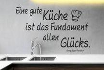 Inspirierende Sprüche | Inspiring quotes / Mehr als Küchenpsychologie: Sprüche von LIEKEN URKORN. Damit bleibt jeder Küchenchef stets gut gelaunt und voll motiviert!