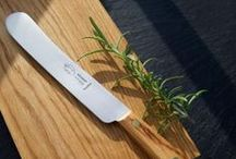 Brotstreicher | Coater blades / So wird's lecker – schon beim Schmieren: mit Streichmessern in verschiedenen Ausführungen.