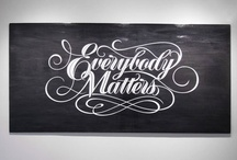 lettering and design / by Alexandra Sperrazza