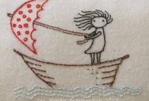 Crochet, Knit & Embroidery / by Lyila Stroup