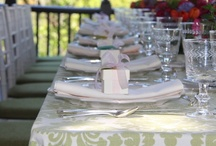 Parties - Table Settings