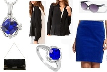 Shoshanah's Picks: Black & Blue / Each week, Shoshanah (who has fabulous taste IMHO) will be putting together a complete outfit, accessorized with Shadora jewelry! No need to hit the malls – she will do the shopping for you! This week's look is Black & Blue – what do you think?