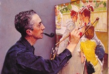 Norman Rockwell / by Linda Yoder