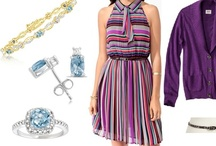 Shoshanah's Picks: Preppy In Topaz / Each week, Shoshanah (who has fabulous taste IMHO) will be putting together a complete outfit, accessorized with Shadora jewelry! No need to hit the malls – she will do the shopping for you! This week's look is Preppy In Topaz – what do you think?