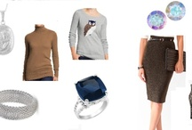 Shoshanah's Picks: Layering Up The Blues / Each week, Shoshanah (who has fabulous taste IMHO) will be putting together a complete outfit, accessorized with Shadora jewelry! No need to hit the malls – she will do the shopping for you! This week's look is Layering Up The Blues – what do you think?