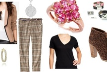 Shoshanah's Picks: Polished Pink / Each week, Shoshanah (who has fabulous taste IMHO) will be putting together a complete outfit, accessorized with Shadora jewelry! No need to hit the malls – she will do the shopping for you! This week's look is Polished Pink – what do you think?