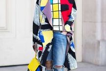 Colorful Coats / Dedicated to fans of bold and bright outerwear.