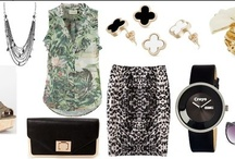 Shoshanah's Picks: The Wild Life / Each week, Shoshanah (who has fabulous taste IMHO) will be putting together a complete outfit, accessorized with Shadora jewelry! No need to hit the malls – she will do the shopping for you! This week's look is The Wild Life – what do you think?