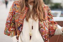 Rocking Tribal Print / See how you can incorporate tribal print into your wardrobe!