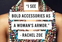 Fashion Quotes / Famous designers and fashion icons share their two cents.