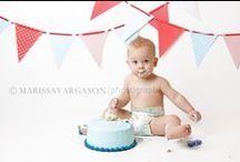 Declan's 1st Birthday Photos / by Kimberly Hayes