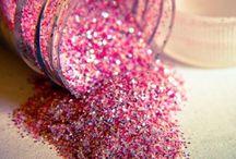 glitter and glue / by Melanie Katie Watts