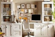 {home: office + craft room} / by Karley Hill