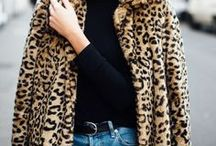 "Sexy in Animal Print / Looking to inject personality into an otherwise ""blah"" outfit? Experiment with animal print!  See how streetstyle pros rock this fabulous pattern."