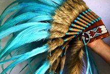 Feather Headress Inspiration