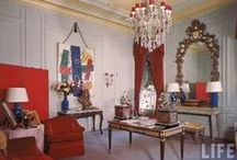 Cecil Beaton - Plaza Hotel / The suite decorated by Cecil Beaton at the Plaza Hotel, New York
