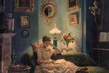 Reading & Lighting / Чтение и свет лампы
