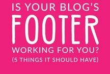 Blogging Tips & Tricks / all things blog related.
