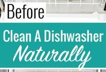 Around the House Cleaning Ideas!