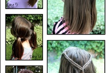 GIRLS HAIR STYLES / by Ayreen Khoury