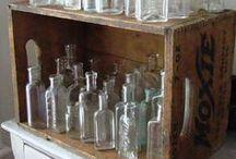 Bottles, Bottles, Bottles  / by Kandi apple art gallery