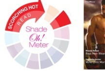 Shade-Oh-Meter readings / Scorching hot reads... Find your which is your shade at http://www.millsandboon.com.au/shades