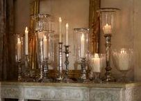 Candles and Things / Different ways to use candles in your displays.