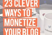 • MONETISING YOUR BLOG •