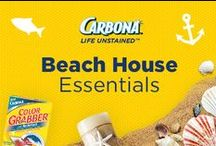 Beach House Essentials / Summertime. Beach house. Life is great.