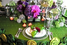 Tablescapes / An awesome table setting makes the meal taste that much better! / by Gidget Doughty