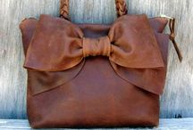 Bags, purses & totes...oh my! / by Ruthie Mohney