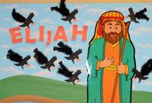 Bible: Elijah & Elisha for Kids / by Debbie Jackson
