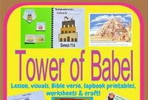 Bible: Tower of Babel / by Debbie Jackson