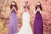 A Purple Wedding / Inspiration and collaboration ideas to really spark that momentum for planning your dream day.  From gorgeous gowns and lavish decor to delectable cakes and one of a kind ring sets. Say 'I Do' with  Something Old,  Something New, Something Borrowed...and Something Purple!