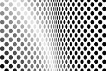 Hallucination and Op Art /  Illusion + Geometric + Greyscale