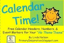 Labels, Calendars, Charts, Etc. Printables