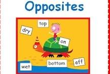 Opposites & Rhyming for Preschool
