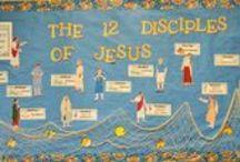 Bible: Jesus & His Disciples/Apostles / by Debbie Jackson