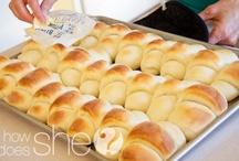 Breads, Rolls, bisquits, muffins / by William Hatley