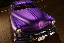 Purple Autos / From the sleekest of design to the classic favorites, all in purple!