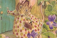 Beatrix Potter ~ Peter Rabbit / Beatrix wasnt JUST an author. She also did illustrations. To sell (as greeting & note cards) but also for all her own books. She defied & set the standards for women of her time WAY before her time. She was a trend setter. / by Suzie Suchman