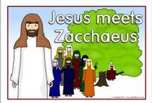 Bible: Jesus & Zacchaeus / by Debbie Jackson